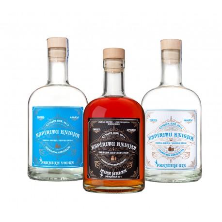 Gin y Vodka Premium Espíritu Enigma