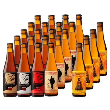 Caja con 24 cervezas Enigma